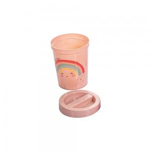 Imagem do produto - Porta Cotonete de Plástico Arco Íris