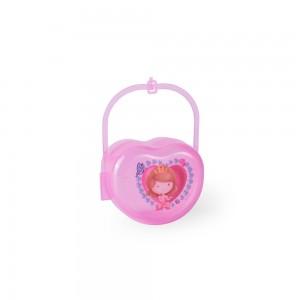 Imagem do produto - Porta Chupeta de Plástico com Alça Baby Princess