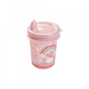 Imagem do produto - Copo de Plástico 330 ml  para Transição com Fechamento Rosca Arco Íris