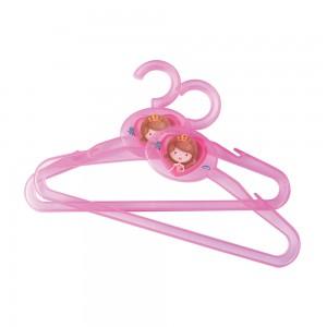 Imagem do produto - Conjunto de Cabides de Plástico 2 Unidades Baby Princess