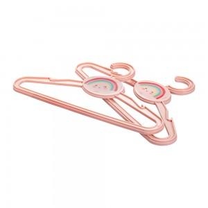 Imagem do produto - Conjunto de Cabides de Plástico Arco Íris 2 Unidades