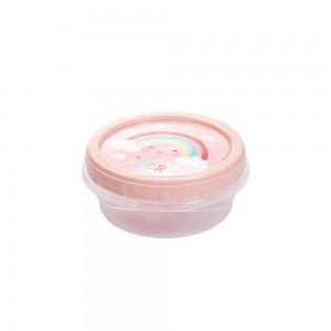 Imagem do produto - Pote de Plástico Redondo 390 ml Arco Íris Rosca