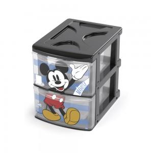 Imagem do produto - Gaveteiro de Plástico com 2 Gavetas Mickey