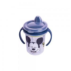 Imagem do produto - Caneca de Plástico 330 ml para Transição com Alça Removível e Fechamento Rosca Mickey Baby
