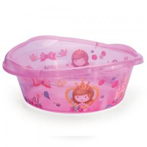 Imagem do produto - Bacia de Plástico Redonda 17 L com Pegador Baby Princess