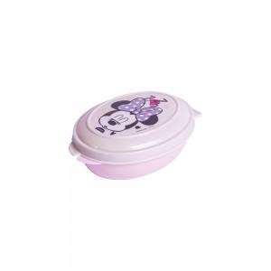 Imagem do produto - Saboneteira de Plástico com Tampa Fixa Minnie Baby