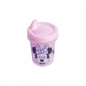 Imagem do produto - Copo de Plástico 330 ml para Transição com Fechamento Rosca Minnie Baby