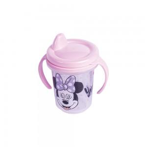 Imagem do produto - Caneca de Plástico 330 ml para Transição com Alça Removível e Fechamento Rosca Mnnie Baby