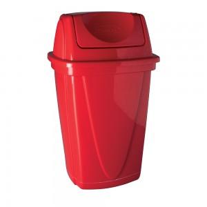 Imagem do produto - Lixeira de Plástico 9 L com Tampa Basculante