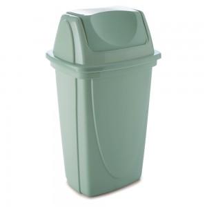 Imagem do produto - Lixeira de Plástico 7,2  L com Tampa Basculante