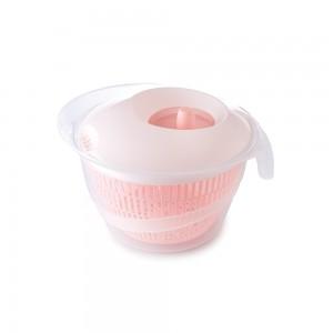 Imagem do produto - Secador de Salada de Plástico 4 L Manual com Cesto para Escorrer