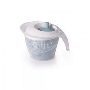 Imagem do produto - Secador de Salada de Plástico 2,8 L Manual com Cesto para Escorrer Azul