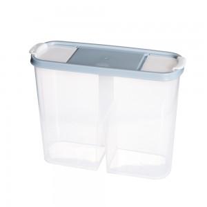 Imagem do produto - Guarda Tudo de Plástico Retangular 2,4 L Dueto Azul