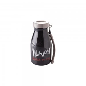 Imagem do produto - Garrafa de Plástico 390 ml com Tampa Rosca Milk Malévola
