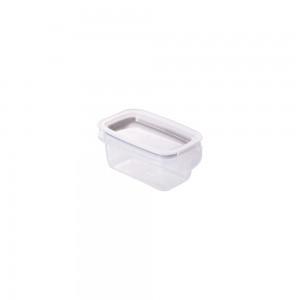 Imagem do produto - Pote de Plástico Retangular 175 ml Hermético Trava Mais Verde