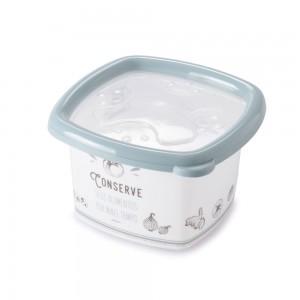 Imagem do produto - Pote de Plástico Quadrado 1,05 L Conservamax Edu Guedes