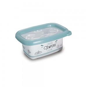 Imagem do produto - Pote de Plástico Retangular 300 ml com Tampa Emborrachada Conservamax Edu Guedes