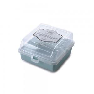 Imagem do produto - Sanduicheira de Plástico Duplex com Tampa Fixa Edu Guedes