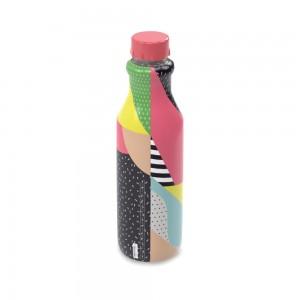 Imagem do produto - Garrafa de Plástico 1 L com Tampa Rosca Retrô Tropical