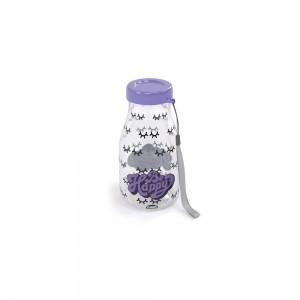 Imagem do produto - Garrafa de Plástico 390 ml com Tampa Rosca Milk Cute