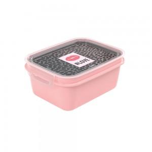 Imagem do produto - Marmita de Plástico 1,2 L com Divisória Removível e Travas Laterais Fun