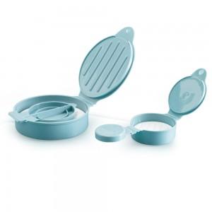 Imagem do produto - Kit Mini Forma e Forma de Hamburguer de Plástico Edu Guedes