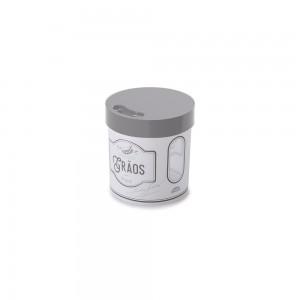 Imagem do produto - Pote de Plástico Redondo 1,2 L para Grãos Edu Guedes