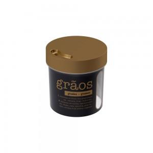 Imagem do produto - Porta Mantimento Redondo Rosca Grãos 1,2 L Glamour