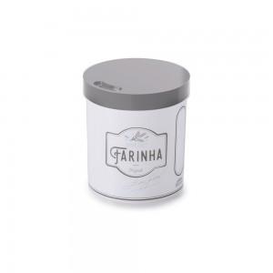 Imagem do produto - Pote de Plástico Redondo 2,5 L para Farinha Edu Guedes
