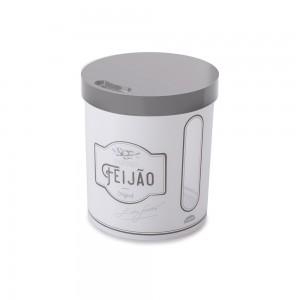 Imagem do produto - Pote de Plástico Redondo 3,4 L para Feijão Edu Guedes