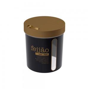 Imagem do produto - Porta Mantimento Redondo Rosca Feijão 3,4 L Glamour
