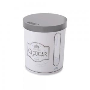 Imagem do produto - Pote de Plástico Redondo 4,4 L para Açucar Edu Guedes