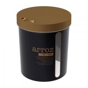 Imagem do produto - Porta Mantimento Redondo Rosca Arroz 5,7 L Glamour