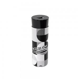 Imagem do produto - Garrafa de Plástico 750 ml com Tampa Rosca De Bem com a Vida