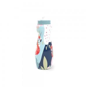 Imagem do produto - Garrafa Squeeze de Plástico 600 ml com Tampa Rosca De Bem com a Vida