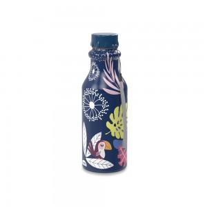 Imagem do produto - Garrafa de Plástico 500 ml com Tampa Rosca Retrô Tropical