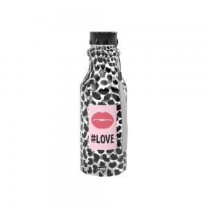 Imagem do produto - Garrafa de Plástico 500 ml com Tampa Rosca Retrô Fun