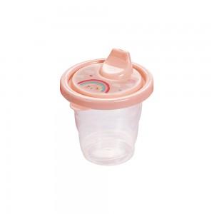 Imagem do produto - Copo de Plástico 200 ml com Tampa e Bico Arco Íris