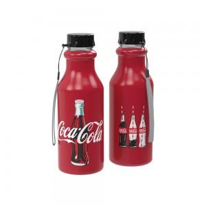 Imagem do produto - Garrafa de Plástico 500 ml com Tampa Rosca Retrô Coca Cola