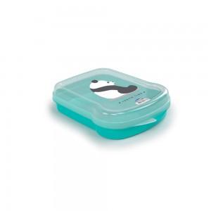 Imagem do produto - Sanduicheira de Plástico com Tampa Fixa Cute