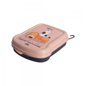 Imagem do produto - Sanduicheira de Plástico com Tampa Fixa Cute Pets