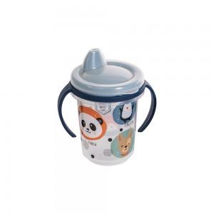 Imagem do produto - Caneca de Plástico 330 ml para Transição com Alça Removível e Fechamento Rosca Bichinhos