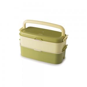 Imagem do produto - Marmita Fit de Plástico com 4 Compartimentos, Alça e Divisórias Removíveis Fitness