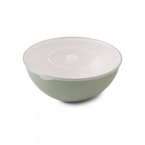 Imagem do produto - Tigela de Plástico 1,4 L com Tampa e Válvula Duo 360° Verde