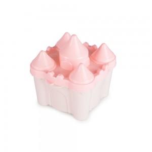 Imagem do produto - Pote de Plástico com Tampa Fixa em Formato de Castelo