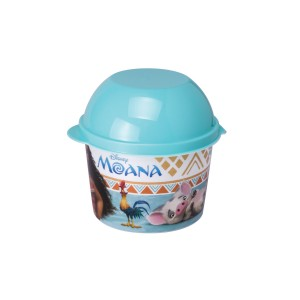 Imagem do produto - Pote de Plástico 400 ml com Tampa Fixa Moana