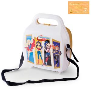 Imagem do produto - Lancheira de Plástico com Trava e Alças Super Hero Girls