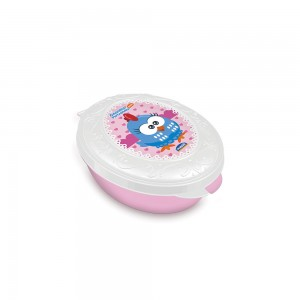 Imagem do produto - Saboneteira de Plástico com Tampa Fixa Galinha Pintadinha