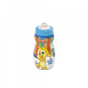 Imagem do produto - Garrafa Squeeze de Plástico 300 ml com Tampa Rosca Galinha Pintadinha