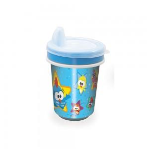 Imagem do produto - Copo de Plástico 330 ml para Transição com Fechamento Rosca Galinha Pintadinha